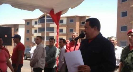 chavez entrega viviendas mision vivienda estado bolivar caroni