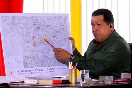 Hugo Chávez anuncia creación de misión vivienda venezuela