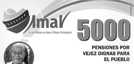 Descargar nuevo listado de pensionados Amor Mayor 6 de octubre 2013